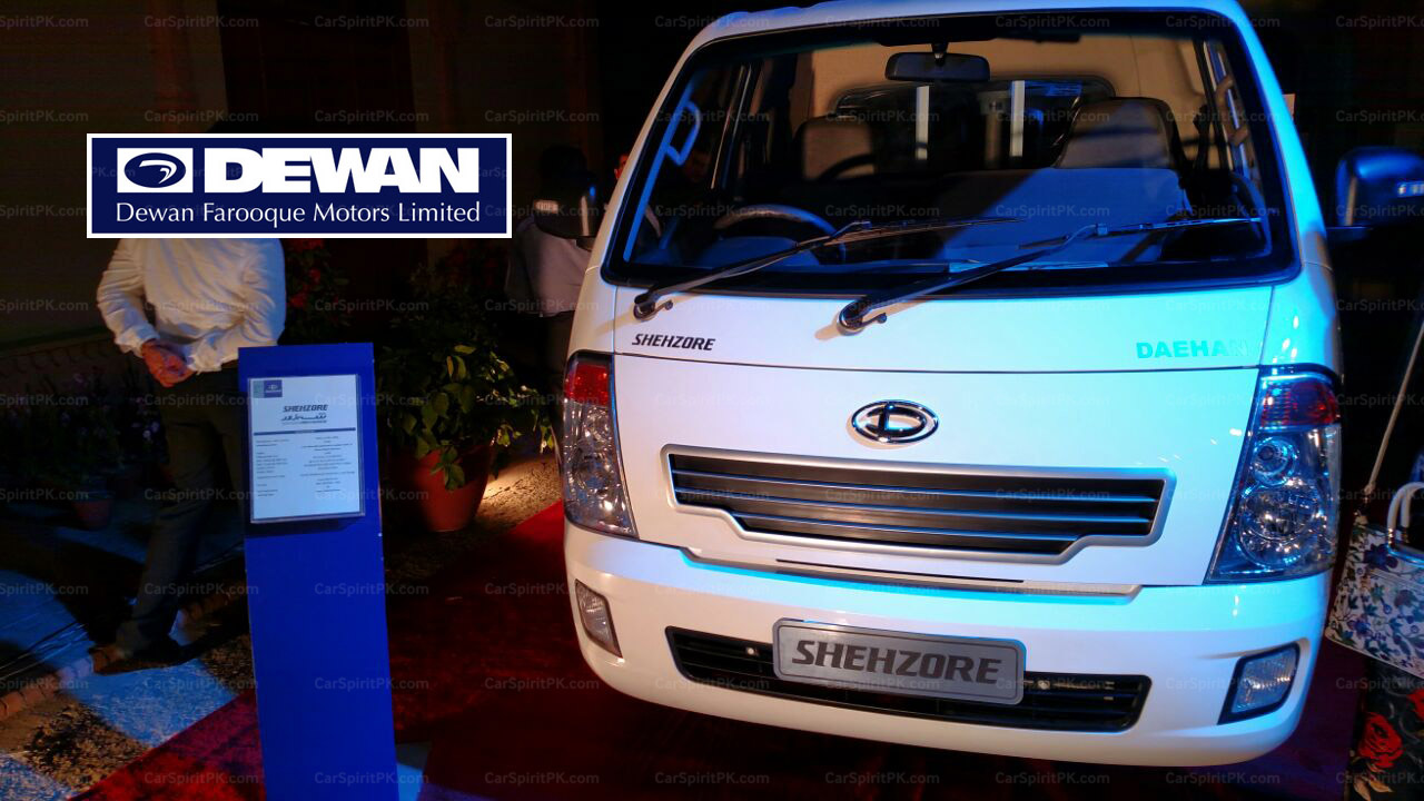 Dewan Launches the New 2018 Shehzore Pickup 4