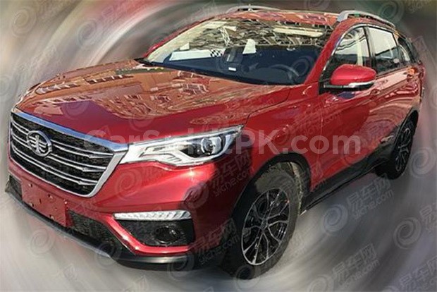 Spy Shots: FAW R9 SUV Ready for China Debut 1