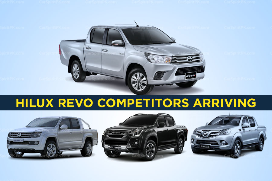 Upcoming Competitors of Toyota Hilux in Pakistan 2