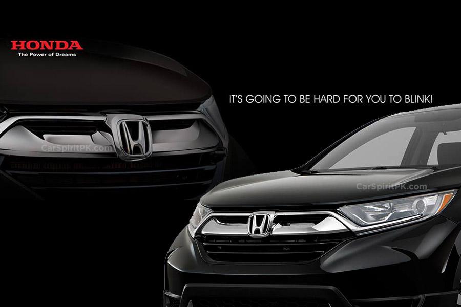 Honda Atlas Teases the New 2018 CR-V 3