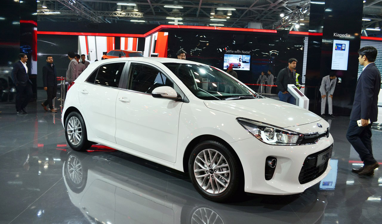 KIA Rio at Auto Expo 2018 4