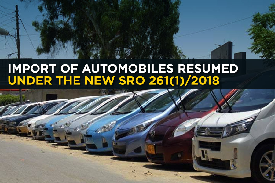 Import of Automobiles Resumed Under the New SRO 261(1)/2018 7