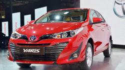 Toyota Yaris Spotted at Motorway M2 3