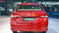 Toyota Yaris Spotted at Motorway M2 5