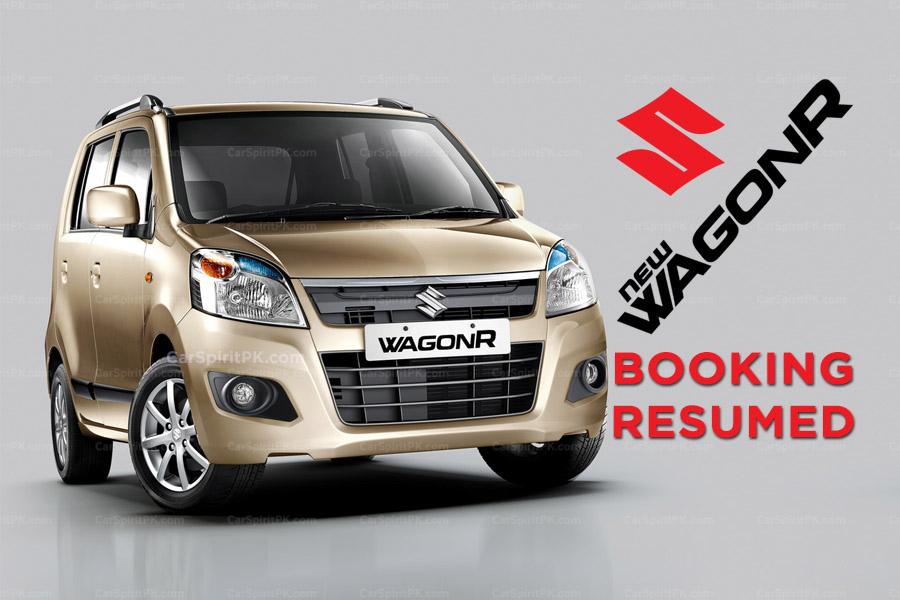 Pak Suzuki Resumes WagonR Bookings 1