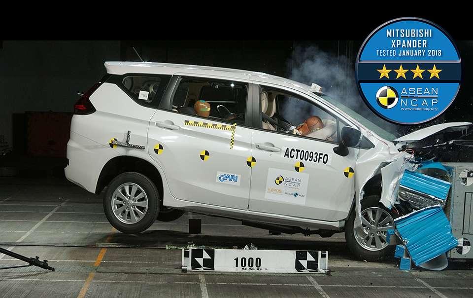 Mitsubishi Xpander Scores 4 Stars in ASEAN NCAP Crash Test 8