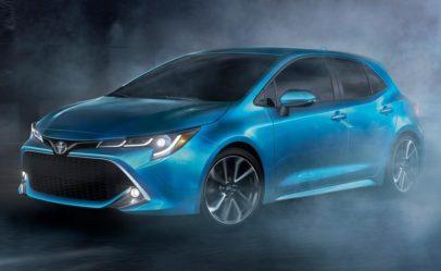 Next Gen Toyota Corolla Hatchback Revealed 4