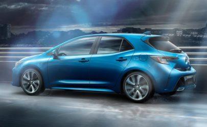 Next Gen Toyota Corolla Hatchback Revealed 5