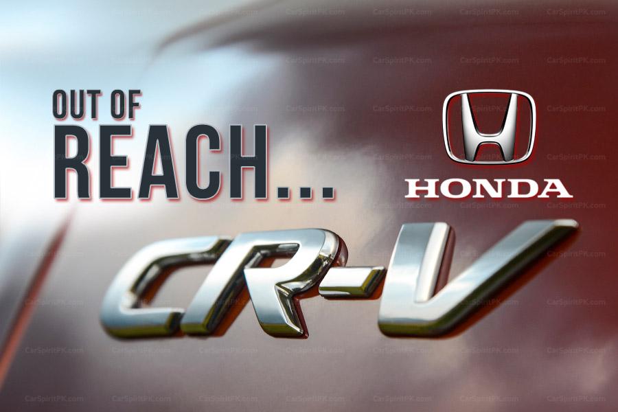 Honda CR-V Price in Pakistan vs Elsewhere 1