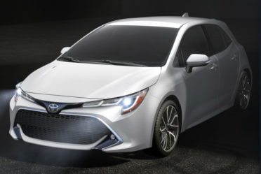 Next Gen Toyota Corolla Hatchback Revealed 6