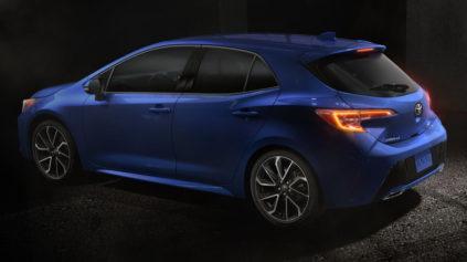 Next Gen Toyota Corolla Hatchback Revealed 9