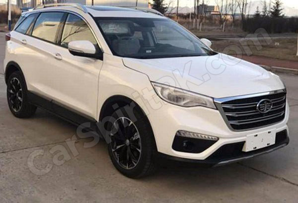 FAW R9 Undisguised- Debut Expected at 2018 Beijing Auto Show 1