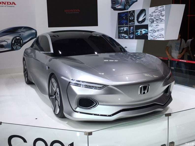 Next Gen China-Spec Honda City can be an Inspiration of the C001 Concept 2
