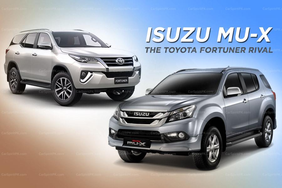 Isuzu MU-X: The Toyota Fortuner Rival 4
