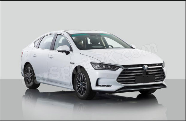 The New 2018 BYD Qin Plugin Hybrid Will Debut at Beijing Auto Show 2
