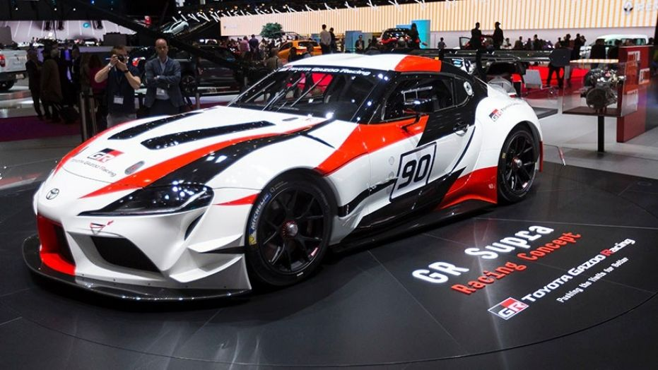 Toyota GR Supra Racing Concept at Geneva 1