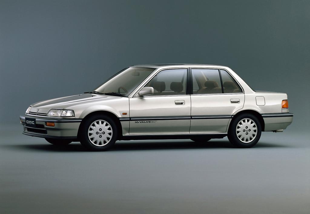 The History of Honda Civic 3