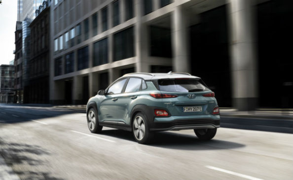 Tesla's Elon Musk is Challenged by Hyundai for New Kona Electric SUV 4