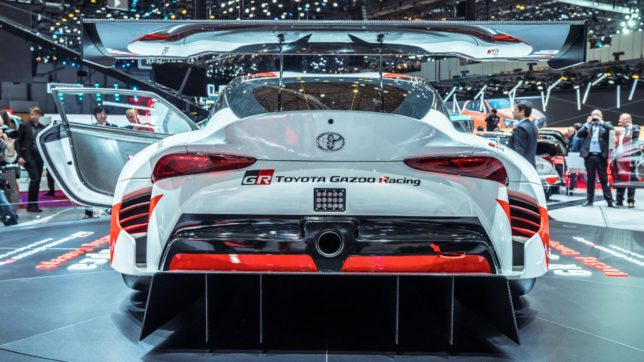 Toyota GR Supra Racing Concept at Geneva 15