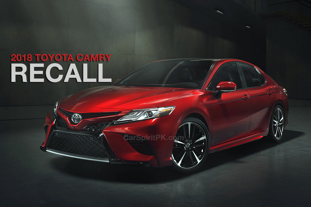 2018 Toyota Camry Recalled Because of Large Pistons 2
