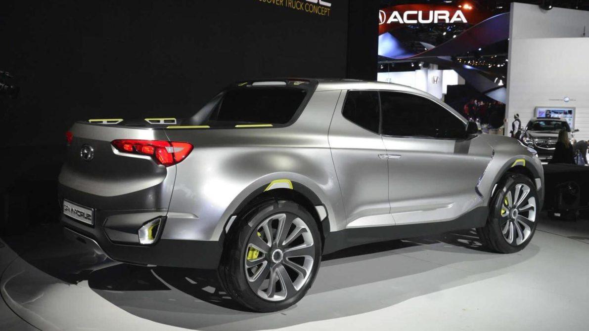 Spotted: Hyundai Readying the Santa Cruz Pickup Truck 5