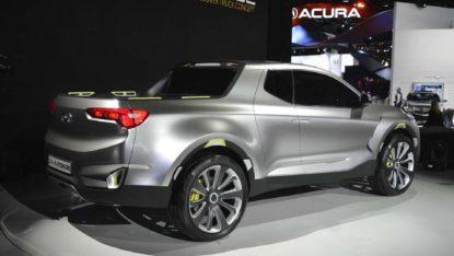 Hyundai Santa Cruz Pickup Caught Testing in Finland 6
