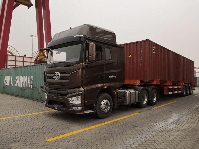 FAW Jiefang Unveiled Self-Driving Trucks in China 1