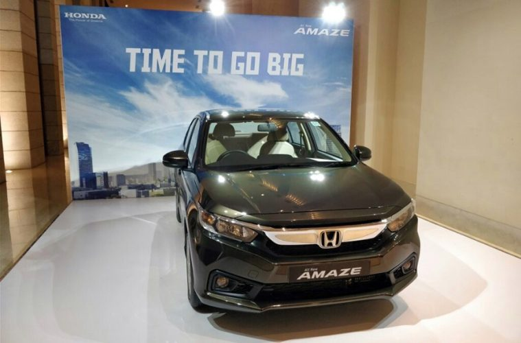Honda Amaze All Set to Launch in India on 16th May 12