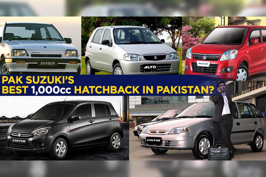 Which is the Best 1000cc Hatchback by Pak Suzuki? 10