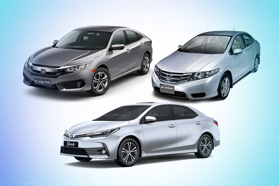 Civic and City Combined, Surpassed Monthly Sales of Corolla for the First Time 2