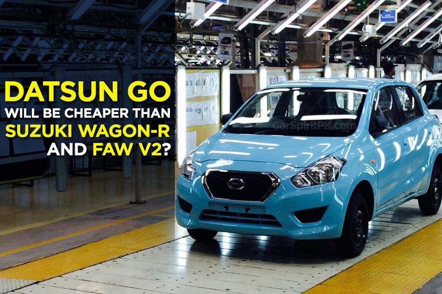 Datsun Go will be Cheaper than WagonR and V2? 9