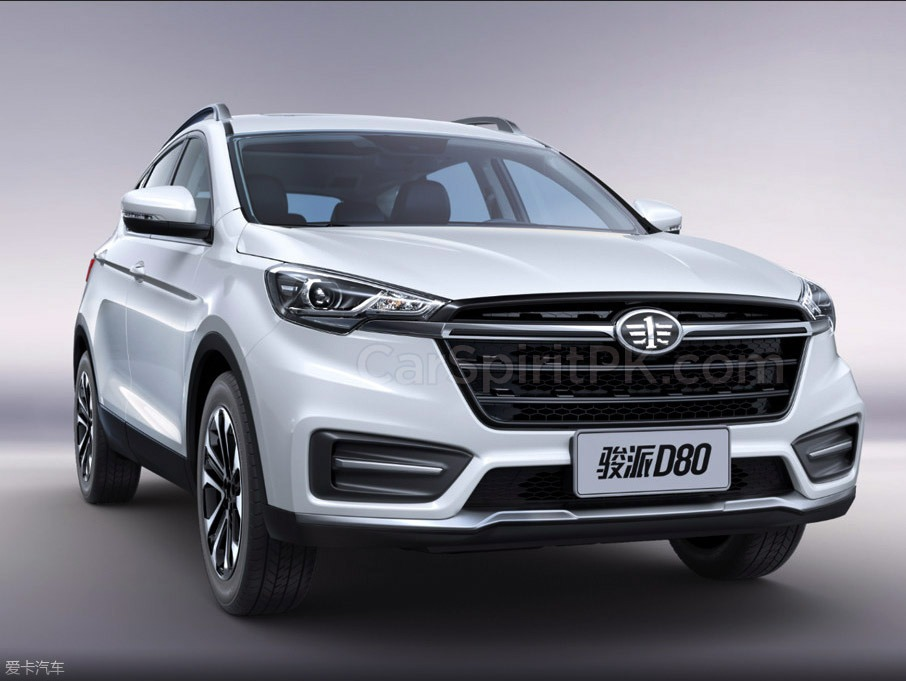 FAW Moves Upmarket with the New Jumpal D80 SUV 5
