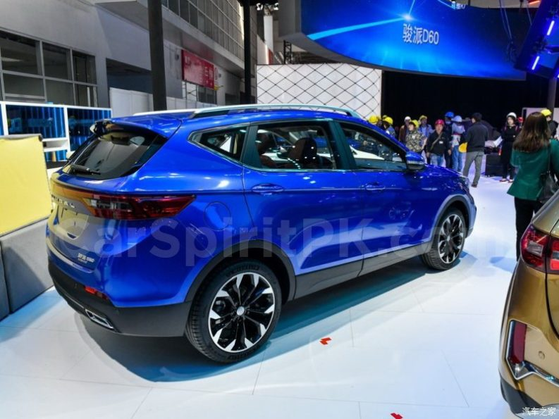 FAW D80 Debuts at 2018 Beijing Auto Show 4