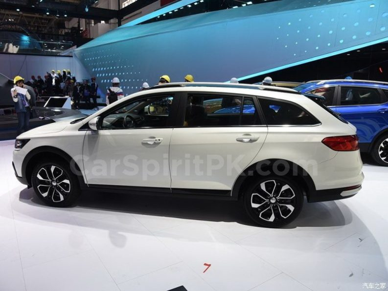 FAW Jumpal CX65 Unveiled at 2018 Beijing Auto Show 2