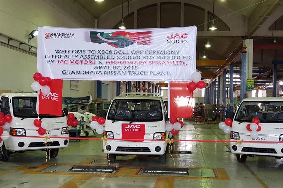 Ghandara Begins Assembling the JAC X200 Pickup Locally 3
