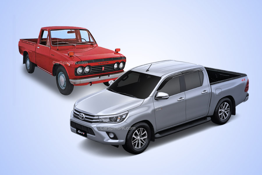 50 Years of Toyota Hilux 3