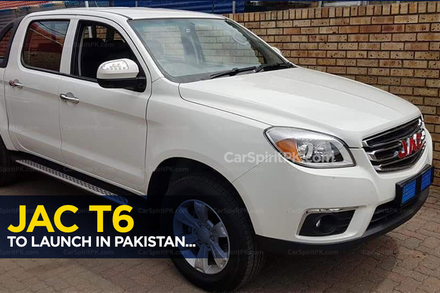Ghandhara to Introduce JAC T6 Double Cabin Pickup in Pakistan 7
