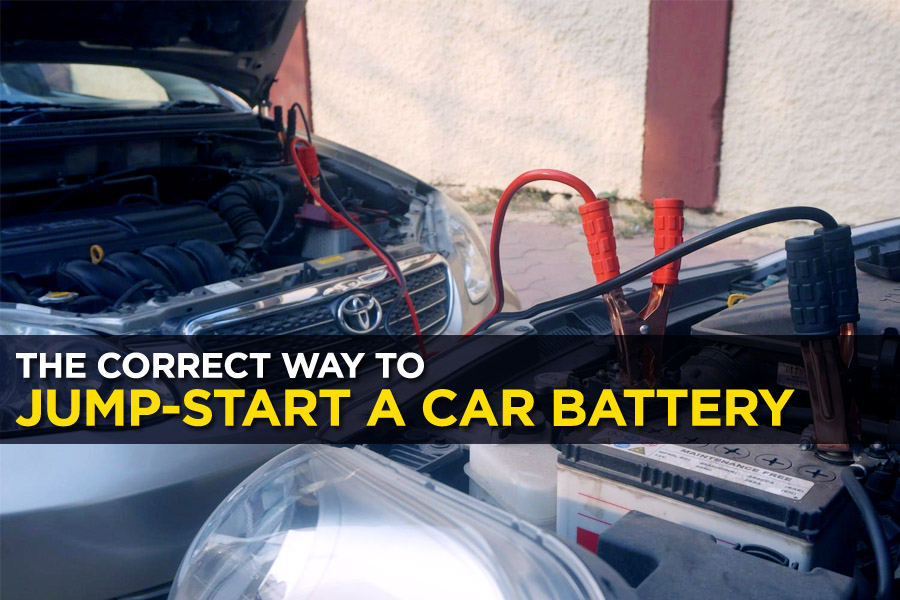 The Correct Way to Jump-Start a Car Battery 8