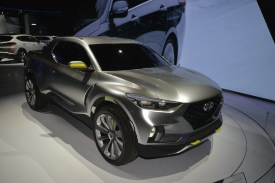 Hyundai Santa Cruz Pickup Truck to Launch in 2020 9
