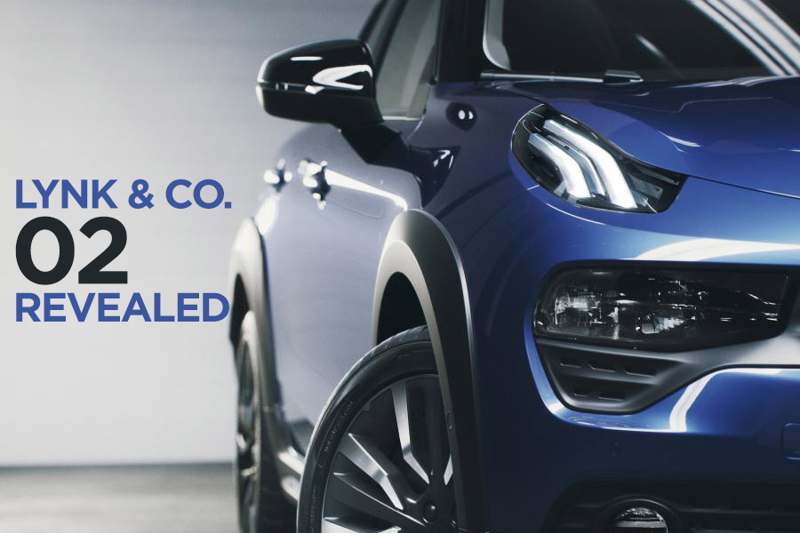 Geely's Lynk & Co Reveals 02 Crossover 2