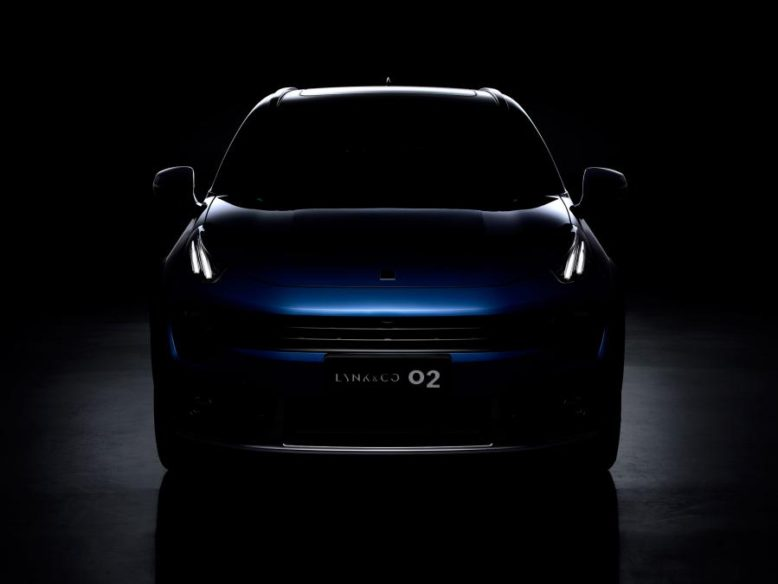 Geely's Lynk & Co Reveals 02 Crossover 4