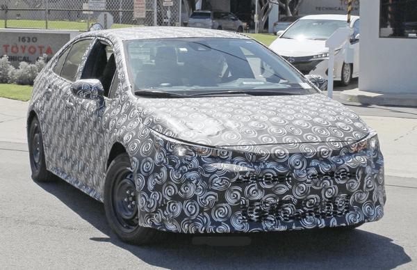 Spyshots: 12th gen Toyota Corolla Caught Testing 10