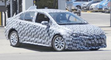 Spyshots: 12th gen Toyota Corolla Caught Testing 1