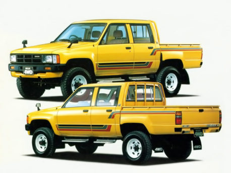 50 Years of Toyota Hilux 9