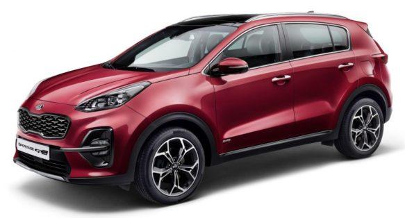 2018 Kia Sportage Facelift Revealed 1