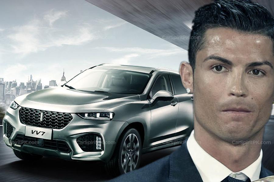 WEY Signs Cristiano Ronaldo as Brand Ambassador 2
