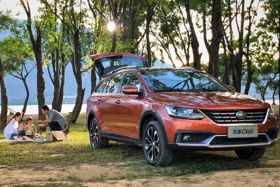 FAW all set to Launch the Jumpal CX65 Wagon in China 3