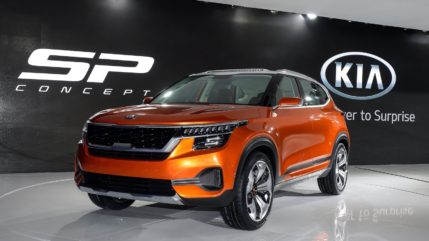 Kia to Begin Operations in India with SP-Concept Based SUV 7