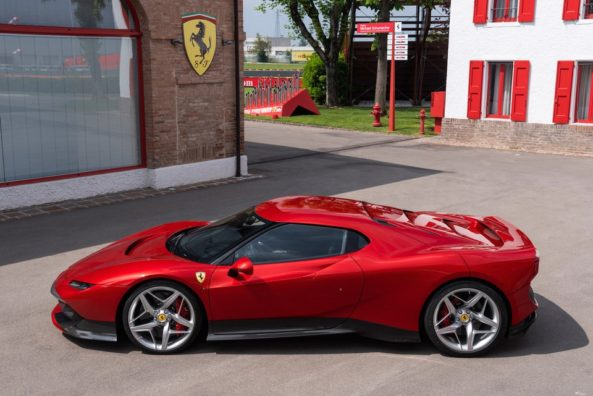 Ferrari Unveils the Latest One-off SP38 7