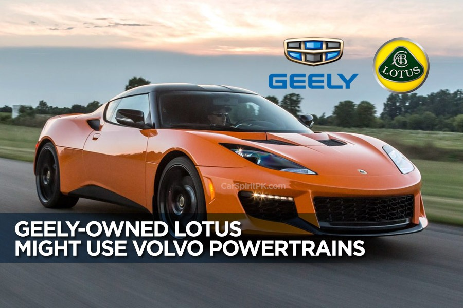 Geely-owned Lotus Might Use Volvo Powertrains 9